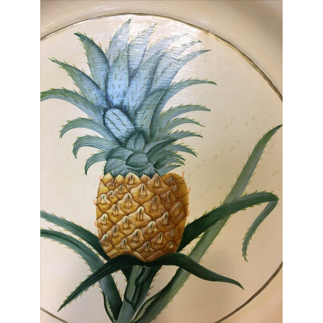 Hand-Painted Pineapple Serving Tray - Image 6 of 6