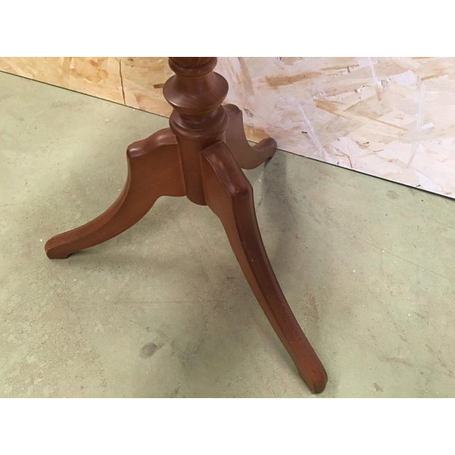 20th Century George III Style Piecrust Wine Table For Sale - Image 9 of 10