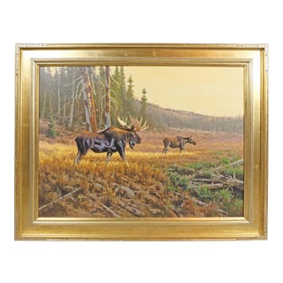 """Autumn Morning"" Oil Painting by Dick Heichberger"