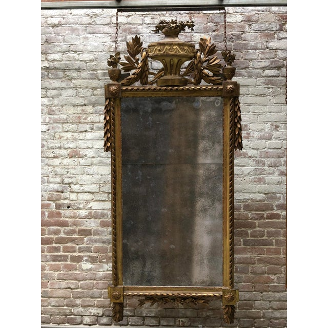 Louis XVI , Caved Gilt Wood For Sale - Image 12 of 13