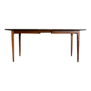 Midcentury Modern Walnut Dining Table For Sale