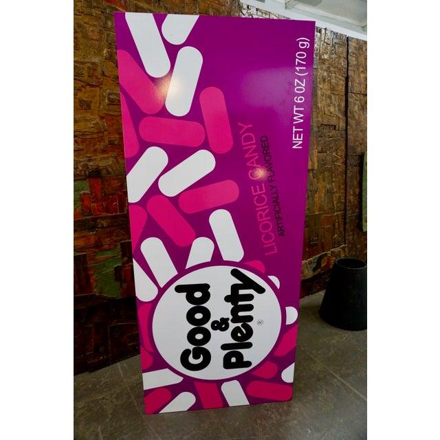 "Pop Art Supersized ""Good&Plenty"" Licorice Candy Box For Sale - Image 4 of 7"
