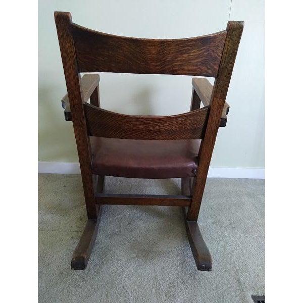 Charles Limbert Limbert Limbert #8074 Rocking Chair For Sale - Image 4 of 9