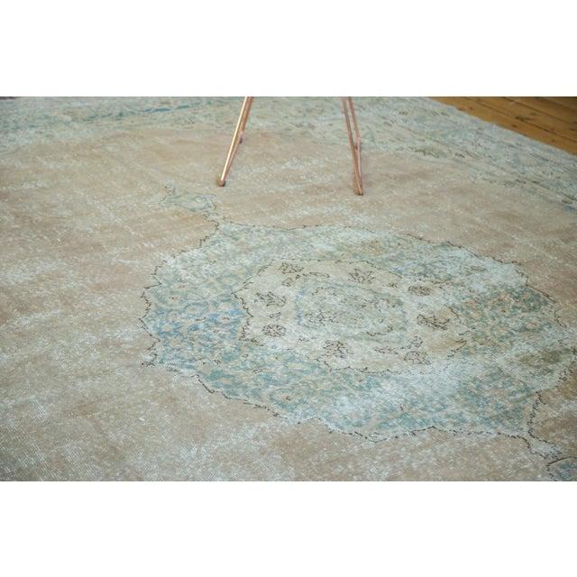 "Vintage Turkish Oushak Carpet - 9'6"" x 13' - Image 4 of 8"