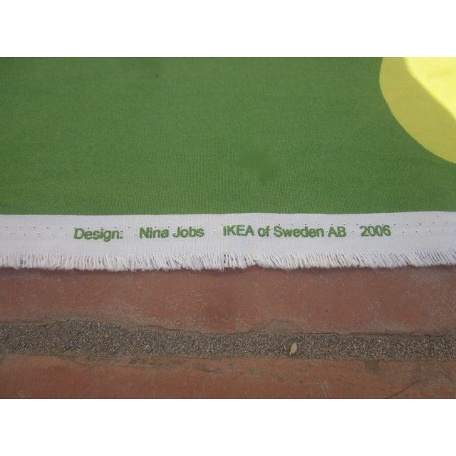 Danish Modern Fabric Panel, Swedish Pop Art - Image 5 of 11