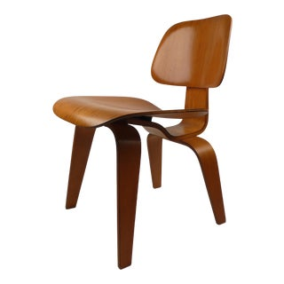 Early Evans Plywood Chair DCW By Charles Eames For Sale