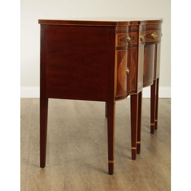 Kindel Furniture Kindel Winterthur Collection Mahogany Inlaid New York Sideboard (C) For Sale - Image 4 of 13