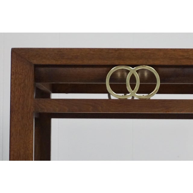 Traditional Far East Brass Ring Gucci Style Side Table For Sale - Image 3 of 5