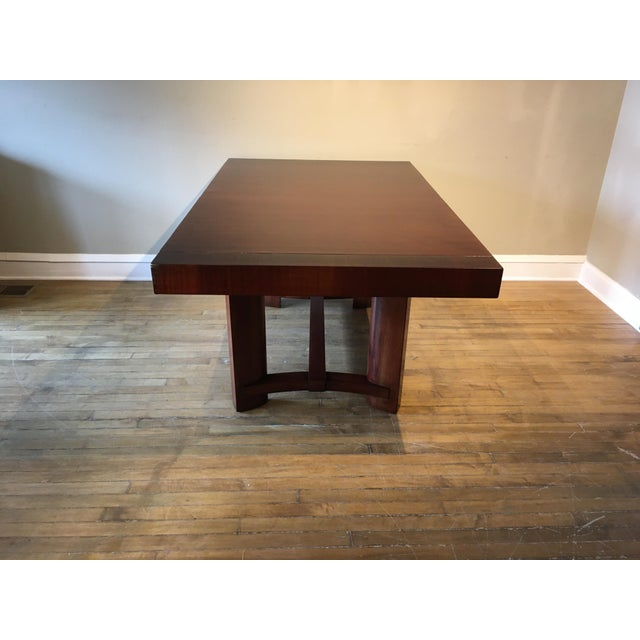 Wood Mid-Century Restored Robjohn Gibbings Dining Table For Sale - Image 7 of 8