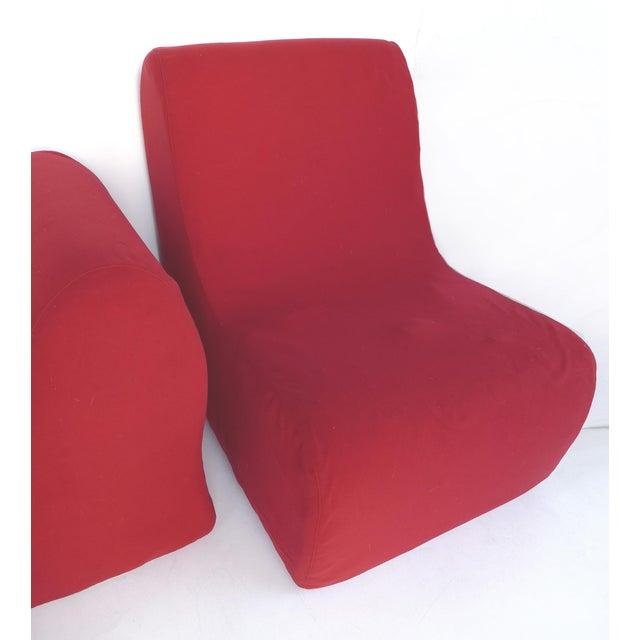 Mid 20th Century Knoll Roberto Matta Malitte Modular Lounge Furniture - Set of 5 For Sale - Image 5 of 9