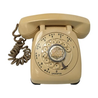 Vintage Classic Ivory Dial Telephone For Sale