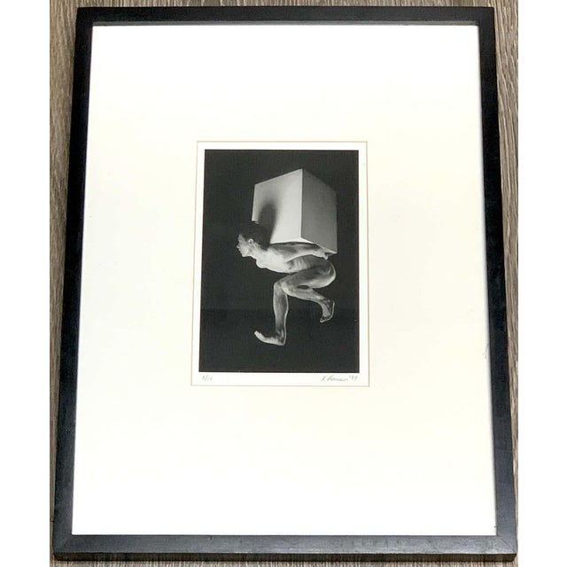 Modern K. Hansen Modern Male Nude Photo, 8 of 10, 1994 For Sale - Image 3 of 8