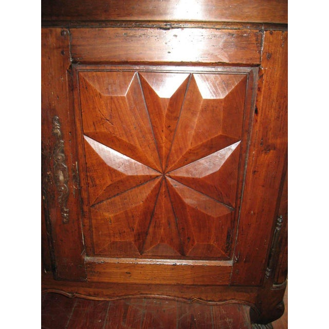 French Antique Sideboard in Walnut, 18th Century For Sale In New Orleans - Image 6 of 12