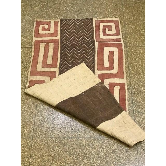 African Handwoven Kuba Cloth - Image 3 of 6