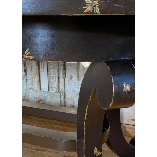 Patina Furniture Inc. Hand Painted Italian Dining Table For Sale - Image 4 of 7