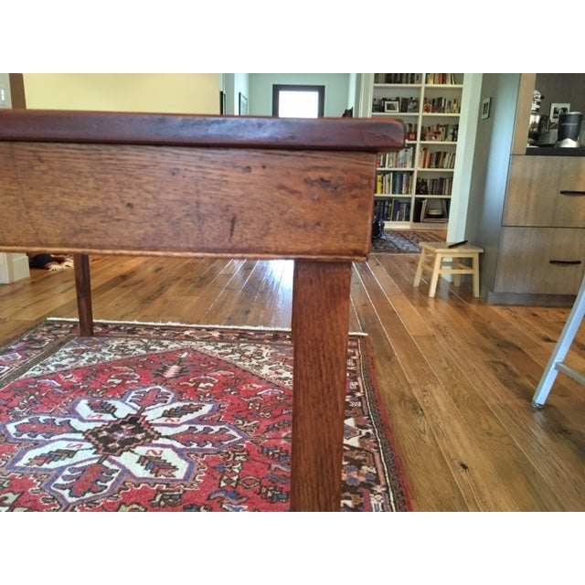 Reclaimed Wood Farm Table - Image 8 of 9