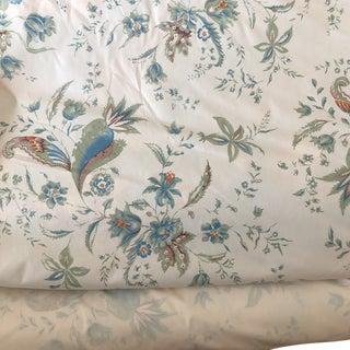 Kirin Kostov Morus Alba Off White & Blue-Green Fabric For Sale