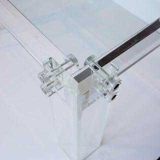 Lucite and Glass Coffee Table Preview