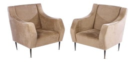 Image of Almond Lounge Chairs