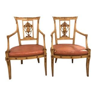 Maison Jansen Arm Chairs - A Pair