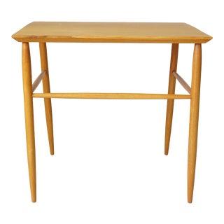 Danish Teak Side Table For Sale