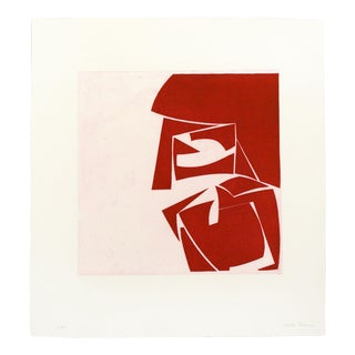 "Joanne Freeman ""Covers 3 Red"" Print For Sale"