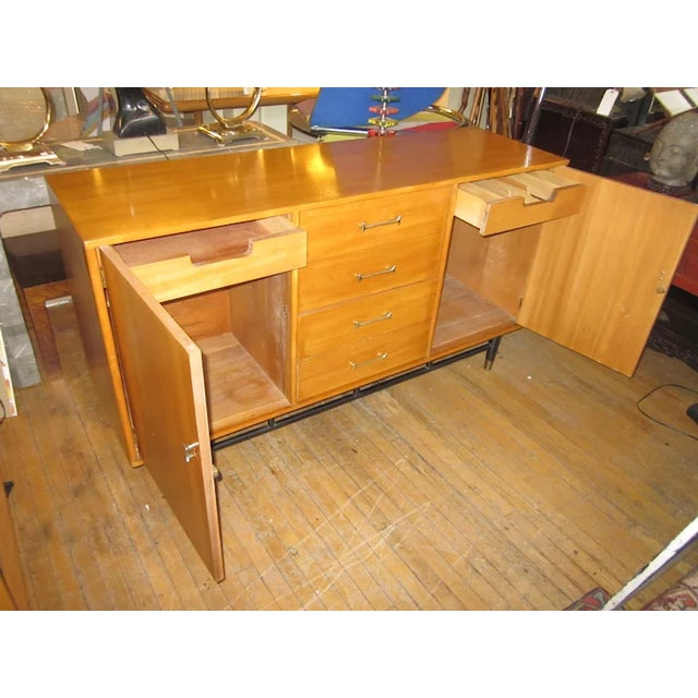 Metal 1960s Mid Century Milo Baughman for Drexel Credenza For Sale - Image 7 of 10