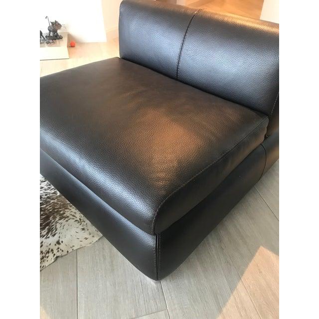 Cool Modern Leather Ottoman Convertible To Seat Chairish Frankydiablos Diy Chair Ideas Frankydiabloscom