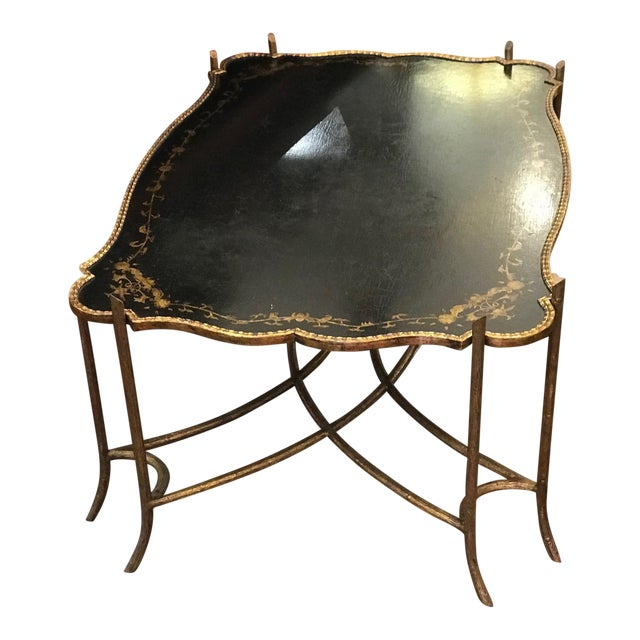 Dennis & Leen Chinoiserie Tray Table For Sale