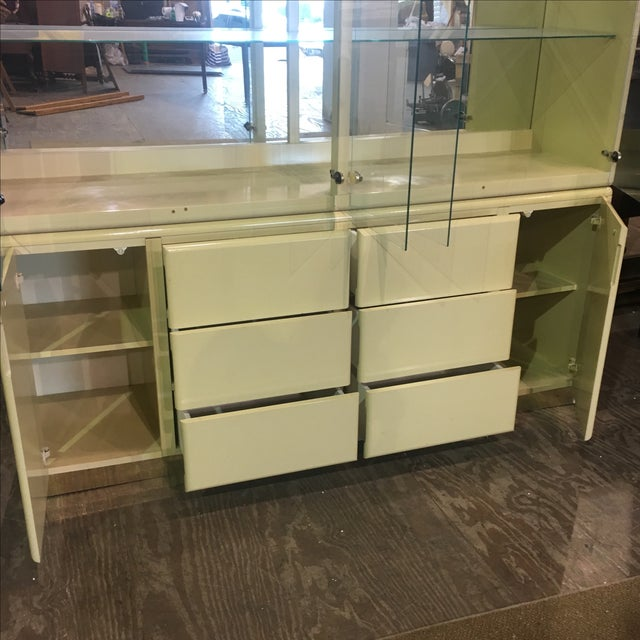 Large Vintage Wall Display Unit Milano by Stanley - Image 7 of 11