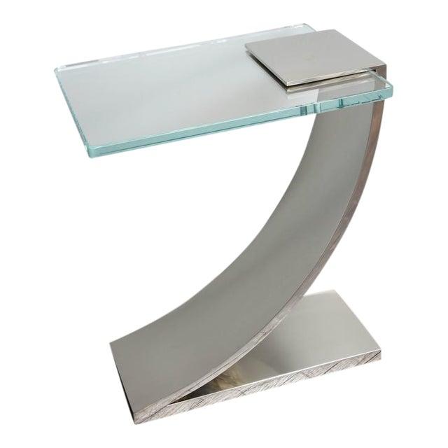 Custom Z Side Table For Sale