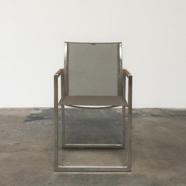 Contemporary Royal Botania Ninix 360 Outdoor Garden Armchairs - Set of 10 For Sale - Image 3 of 8