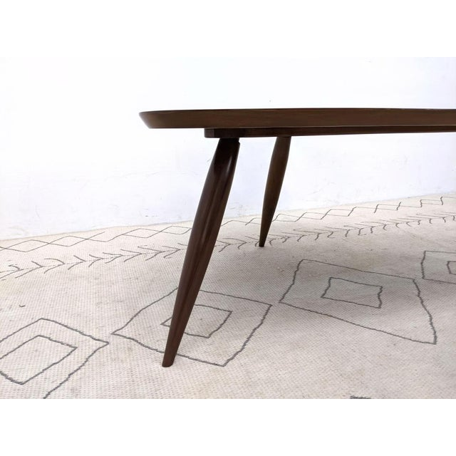 1960s 1960s Mid Century Walnut Cocktail Table For Sale - Image 5 of 9