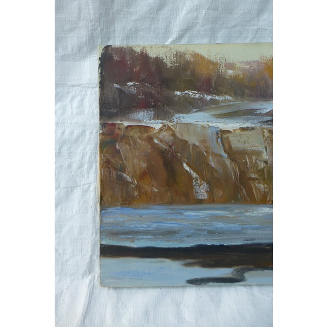 Abstract Waterfall Painting by H.L. Musgrave - Image 3 of 7