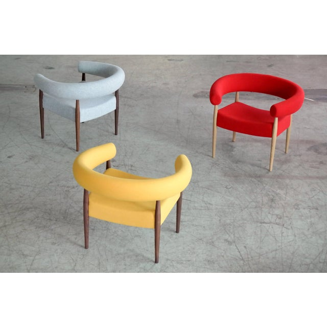 Nanna Ditzel Pair of Ring Chairs for Getama For Sale - Image 10 of 13