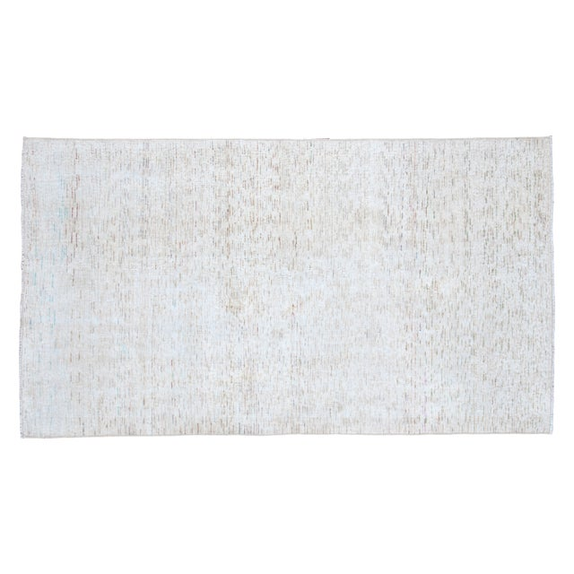 "Distressed Oushak Rug - 3'7 x 6'4"" - Image 1 of 7"
