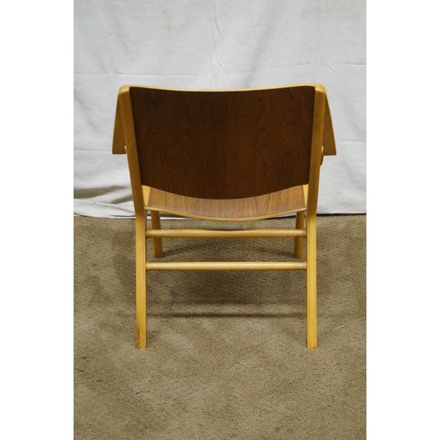 Fritz Hansen Peter Hvidt & Orla Molgaard for Fritz Hansen Axe Lounge Chair For Sale - Image 4 of 10