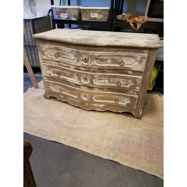Louis XV Style Painted Commode With Serpentine Front - Image 2 of 8