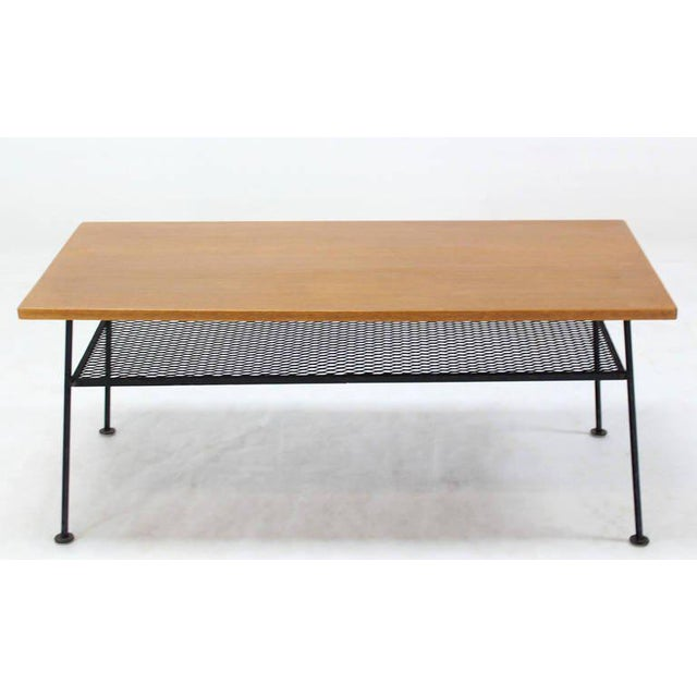 Mid-Century Modern Coffee Table by Mattieu Mategot For Sale In New York - Image 6 of 8