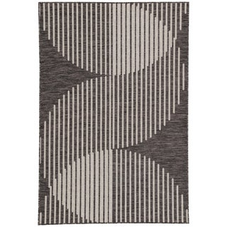 Nikki Chu by Jaipur Living Tangra Indoor/ Outdoor Geometric Area Rug - 2′ × 3′7″