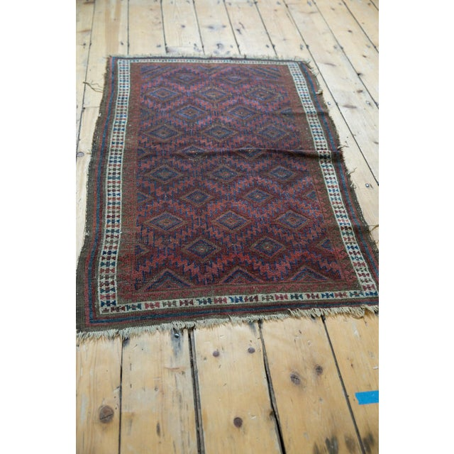 """Antique Belouch Rug - 2'5"""" X 3'9"""" For Sale - Image 10 of 11"""