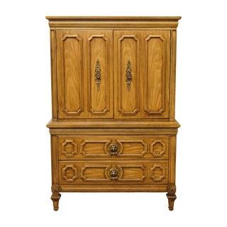 "20th Century Traditional Thomasville Furniture Villa d'Este Collection Italian Provincial 42"" Door Chest For Sale"