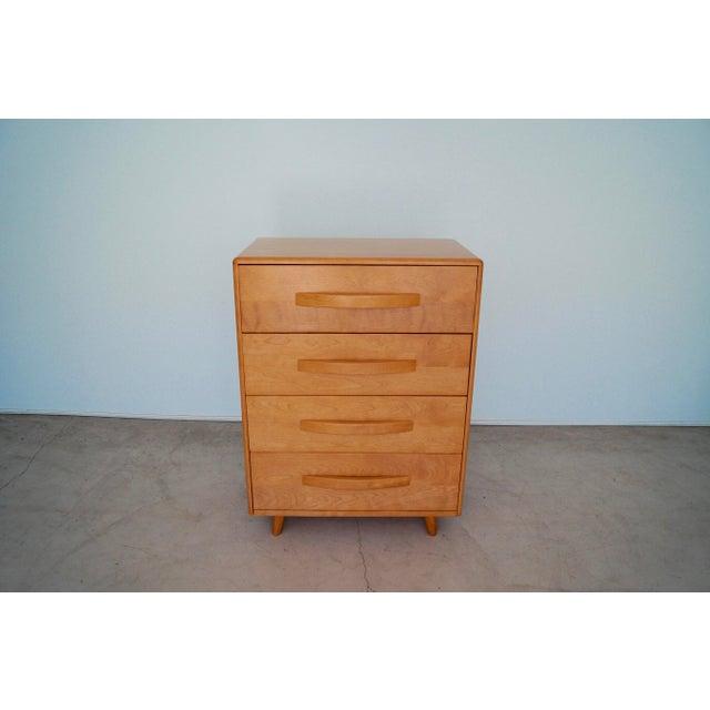 Heywood-Wakefield 1930s Mid-Century Modern Heywood Wakefield Dresser For Sale - Image 4 of 13