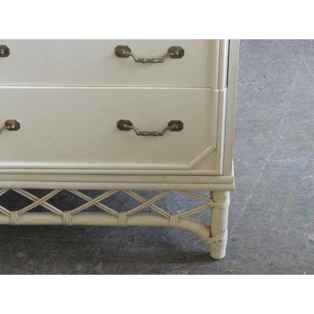 Regency Ficks Reed 9 Drawer Dresser For Sale - Image 3 of 5