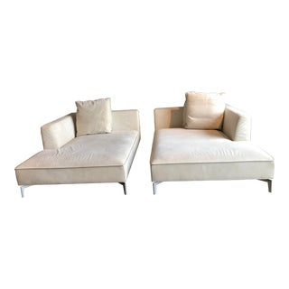 Modern Designer Ligne Roset Sofas From Linea - A Pair For Sale
