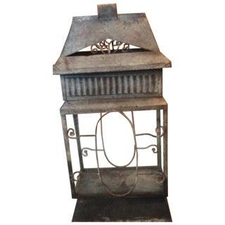 Vintage Rustic Lantern For Sale