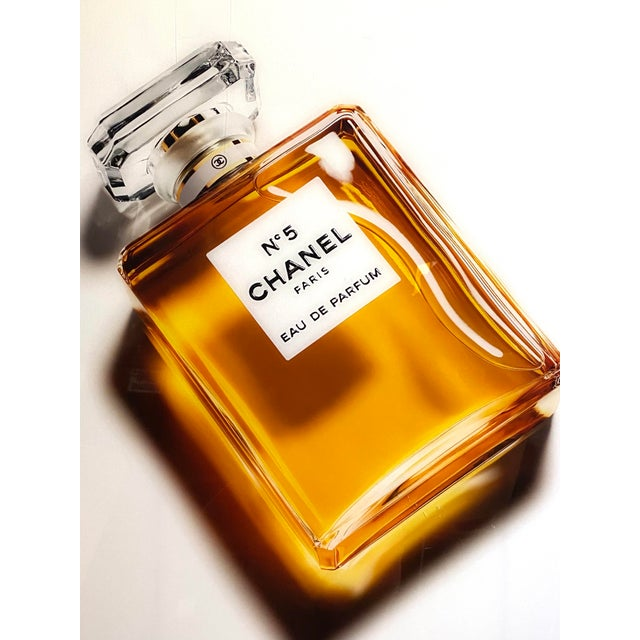 Original Chanel Advertising Perfume Store Display Sign Plexi Glass Arcylic For Sale In New York - Image 6 of 8
