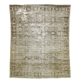 Antique Persian Mahal Rug - 08'00 X 10'00 For Sale