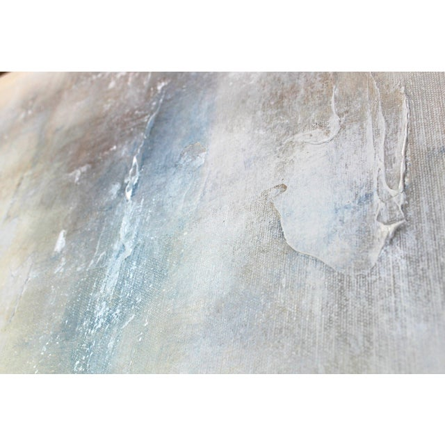 """""""Drifted"""" Modern Textured Abstract Painting - Image 6 of 6"""
