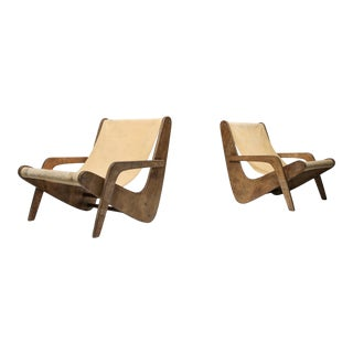 Boomerang Lounge Chair by Zanine Caldas - 1950's For Sale